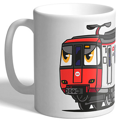 VANDALS ON HOLIDAYS Mug Barcelona Metro S2000