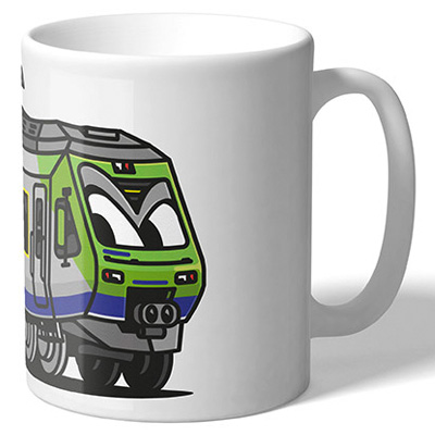VANDALS ON HOLIDAYS Mug Bern S-Train Nina