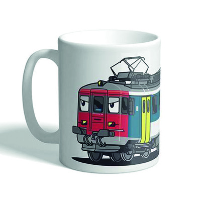 VANDALS ON HOLIDAYS Mug SBB RBE-540