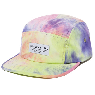 THE QUIET LIFE 5Panel Cap NEON TIE DYE multi