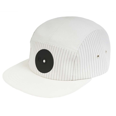 MR. SERIOUS 5Panel Cap NEW YORK FATCAP white/black