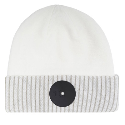 MR. SERIOUS Beanie NEW YORK FATCAP white/black