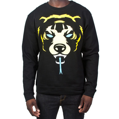 MISHKA Sweater OVERSIZED DEATH ADDERS black