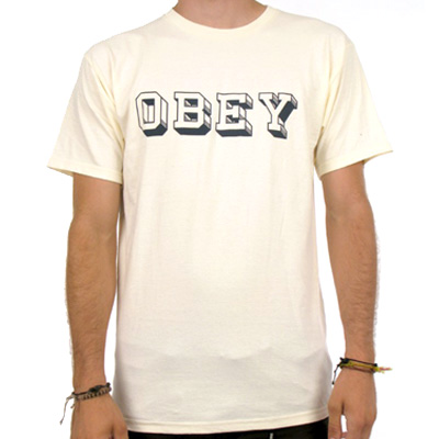 OBEY T-Shirt OBEY UNIVERSITY natural