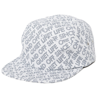 THE QUIET LIFE 5Panel Cap ON AND OFF white