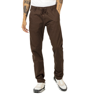 REELL Chino Pants REFLEX EASY ST dark brown