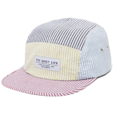 THE QUIET LIFE 5Panel Cap PATCHWORK SEERSUCKER multi