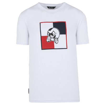UNFAIR ATHLETICS T-Shirt PB FLAG white