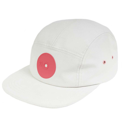 MR. SERIOUS 5Panel Cap PINK DOT FAT white/pink