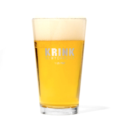 KRINK Pint Glass