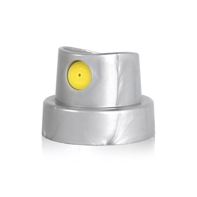 POCKET FAT Cap silver-yellow