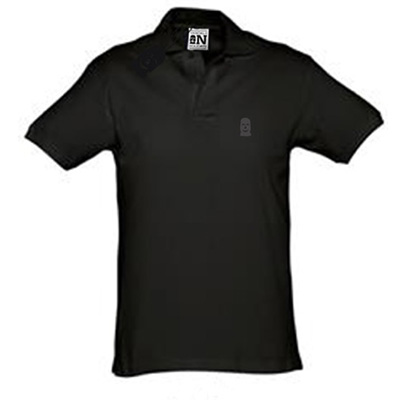 VANDALS ON HOLIDAYS Polo Shirt MASK black/black