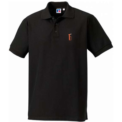 SIXSIXSEVEN Polo Shirt NOTHAMMER black