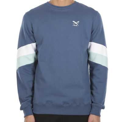 IRIEDAILY Sweater PRIME CREW dusty blue