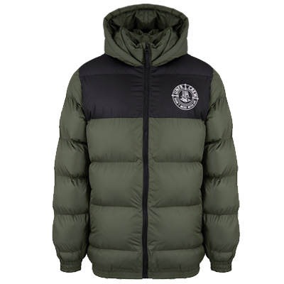 UNFAIR ATHLETICS Winter Jacket PUFFER green/black