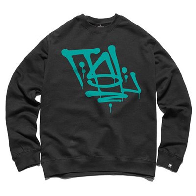 7TH LETTER Sweater QUICK HIT black