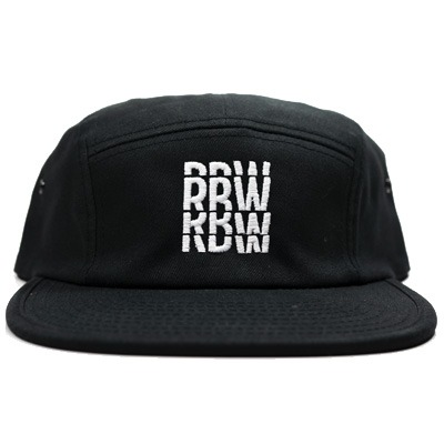 RBW 5Panel Cap LOGO black