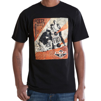 OBEY T-Shirt RIP MCA black