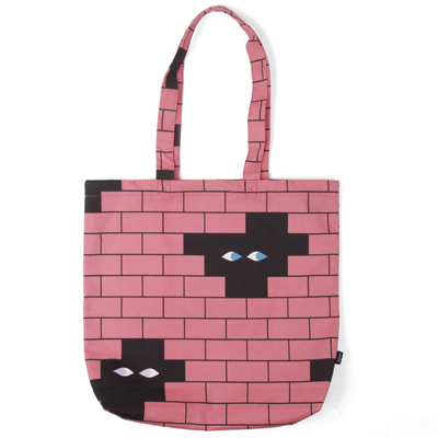LASER Tote Bag HEDOF BRICKS red