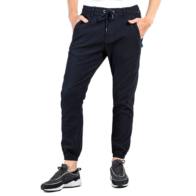REELL Jogging Pants REFLEX 2 honeycomb knit indigo
