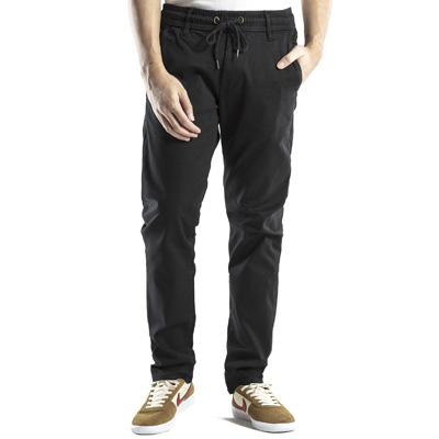 REELL Chino Pants REFLEX EASY ST black