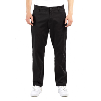 REELL Chino Pants REGULAR FLEX CHINO black