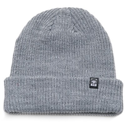 OBEY Beanie RUGER 89 heather grey