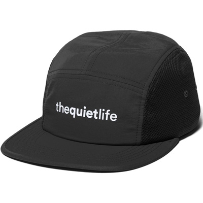 THE QUIET LIFE 5Panel Cap RUNNER black