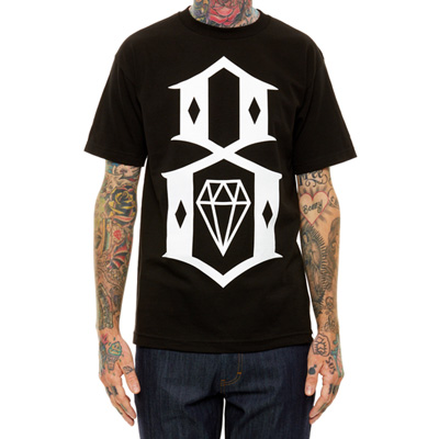 REBEL8 T-Shirt LOGO 8 black