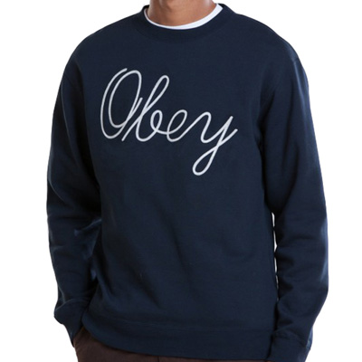 OBEY Sweater STANTON navy