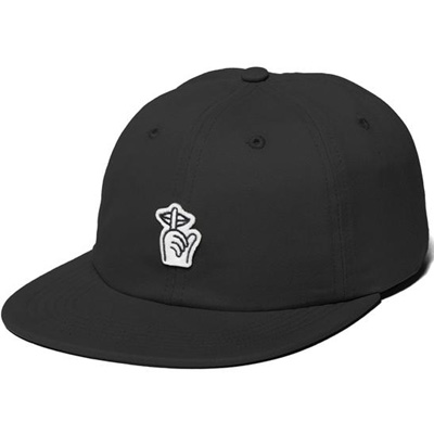 THE QUIET LIFE Polo Hat SHHH black