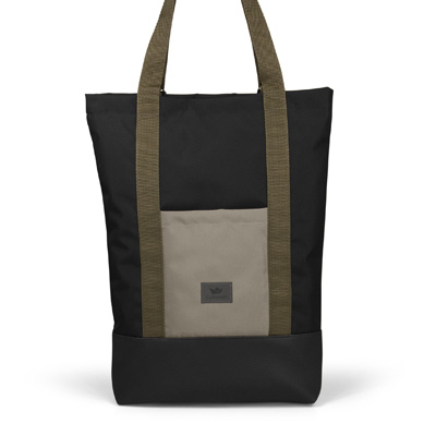 FREIBEUTLER Bag OLIVE STRAP SHOPPER black