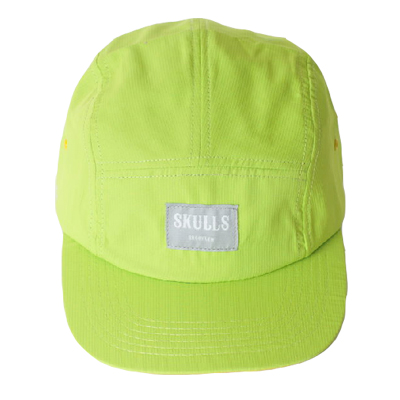 c0f3fbdd64e SKULLS 5Panel Cap OLD SCHOOL vivid green Five Panel Caps Layup ...