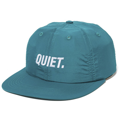 THE QUIET LIFE Polo Hat SPORT turquoise
