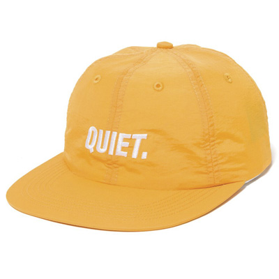 THE QUIET LIFE Polo Hat SPORT golden yellow