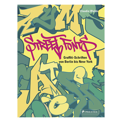 STREET FONTS Book German Softcover