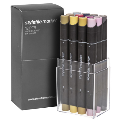 STYLEFILE Marker 12er Set MULTI 34