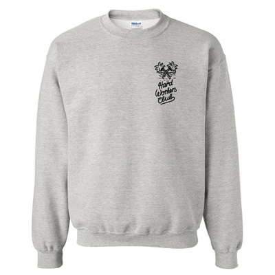 HYPERRAUM Sweater HARD WORKERS CLUB heather grey