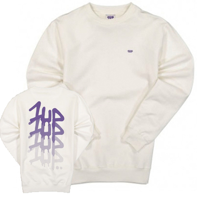 1UP Sweater FADERUNER offwhite/lilac