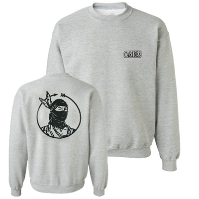 CARIBES Sweater MASK heather grey