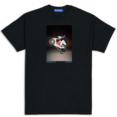 USUAL T-Shirt SCOOTER black