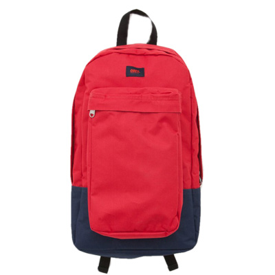 OBEY Backpack TRANSIT red/navy