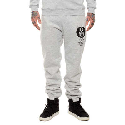 REBEL8 Sweatpants TRIUMPHANT heather grey