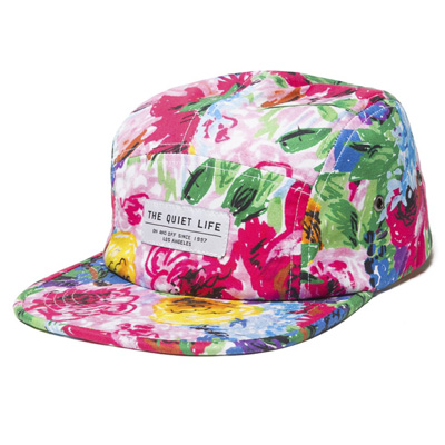 THE QUIET LIFE 5Panel Cap TAKE A BREAK floral