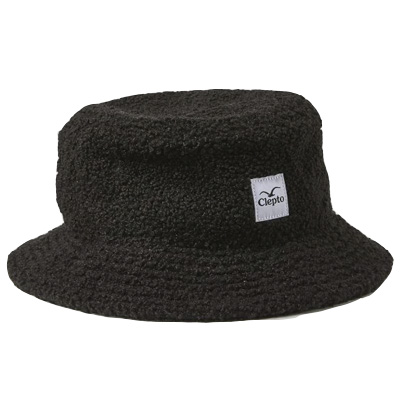 CLEPTOMANICX Bucket Hat TEDDY black
