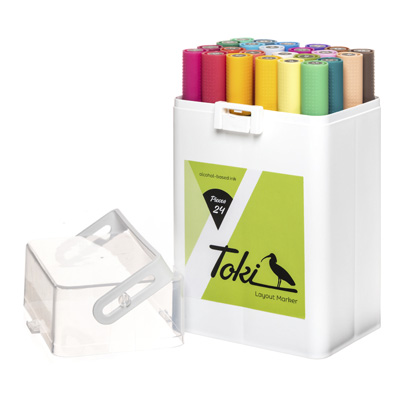 TOKI Layoutmarker 24er Set Main B