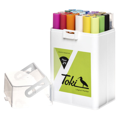 TOKI Layoutmarker 24er Set Main A