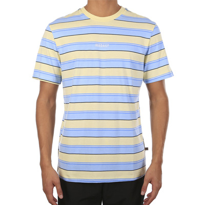 IRIEDAILY T-Shirt TONY STRIPE lemonade