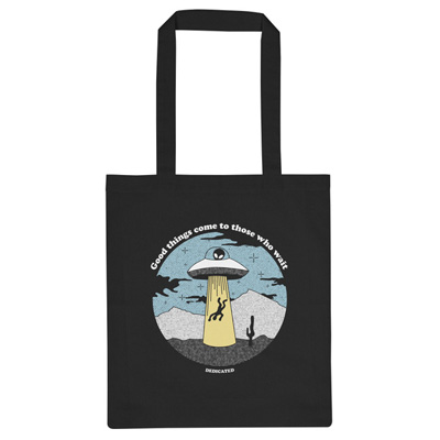 DEDICATED Tote Bag GOOD THINGS black