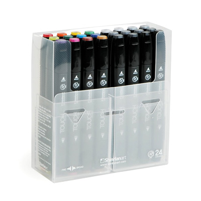 TOUCH TWIN MARKER 24er Set